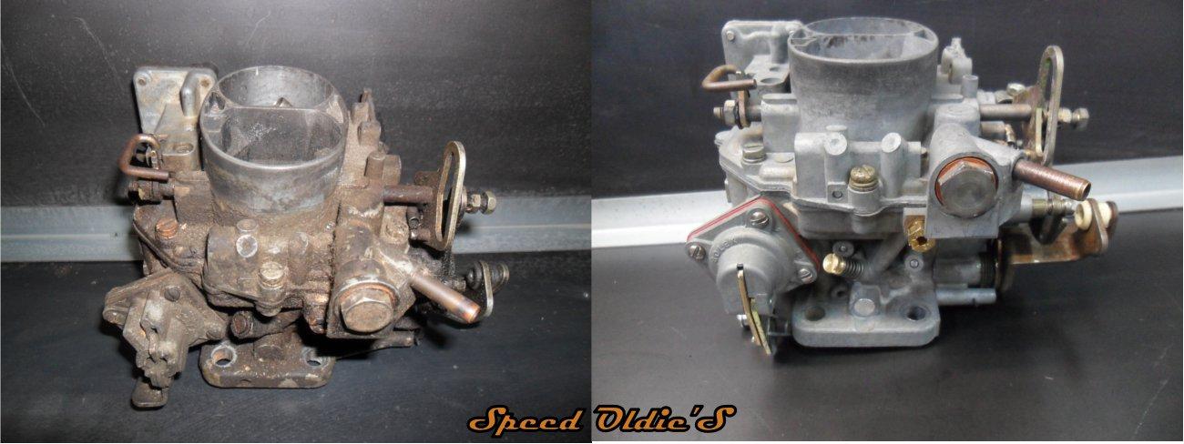 nettoyer un carburateur solex